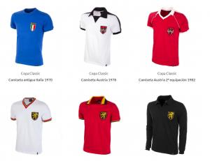 Camisetas Europa