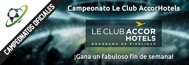 Campeonato Le Club AccorHotels en futmondo