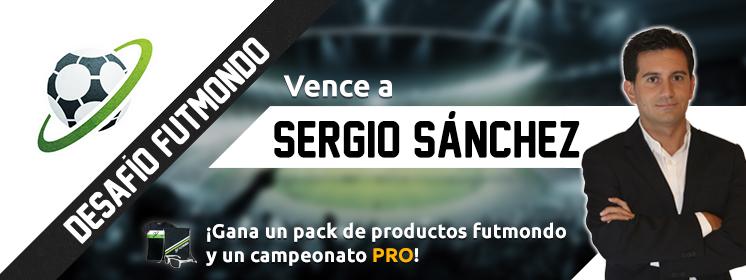 Vence a Sergio Sánchez en Futmondo y si eres el mejor, llévate PREMIO.