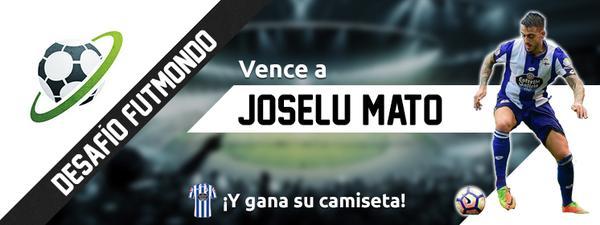 Desafía a Joselu Mato en Futmondo y gana su camiseta del Deportivo
