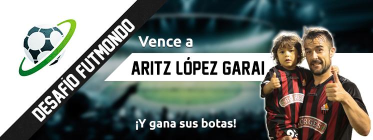 Desafío a Aritz López Garai en Futmondo