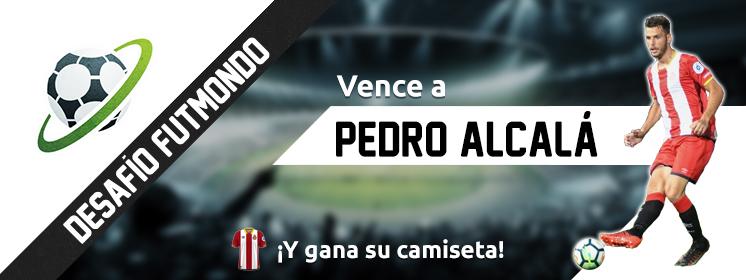 Desafío Pedro Alcalá en Futmondo