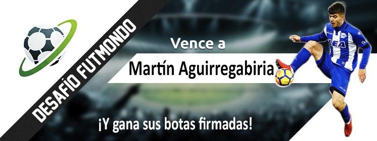 Desafío Martín Aguirregabiria en Futmondo